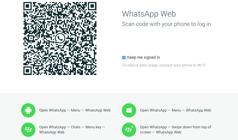 Whatsapp Chrome