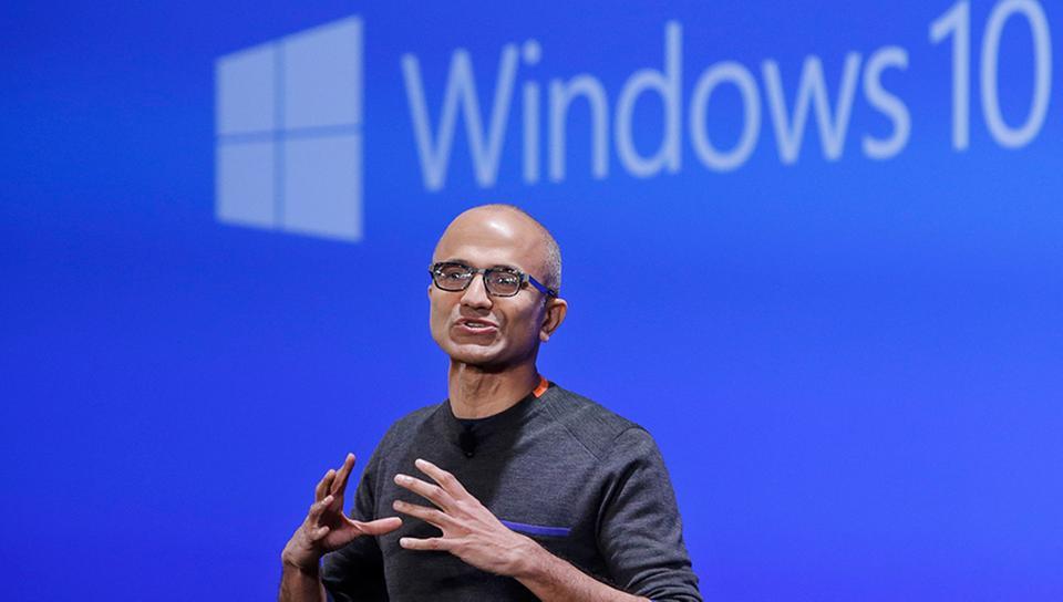 Satya Nadella, CEO von Microsoft    Bildquelle: AP