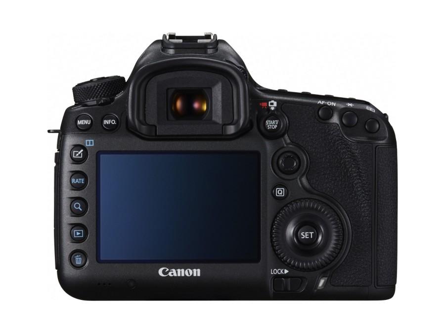 Canon EOS 5DS Rückseite