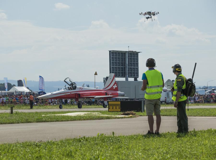 Drohne an der AIR14