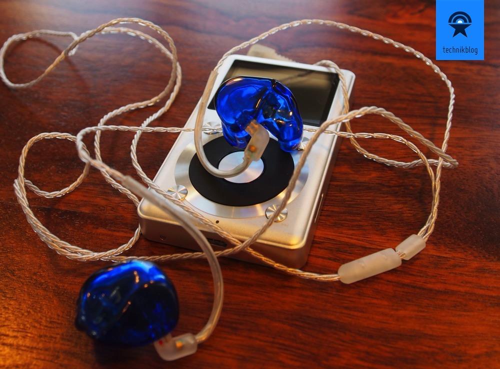 Fiio X1 mit Cosmic Ears BA2