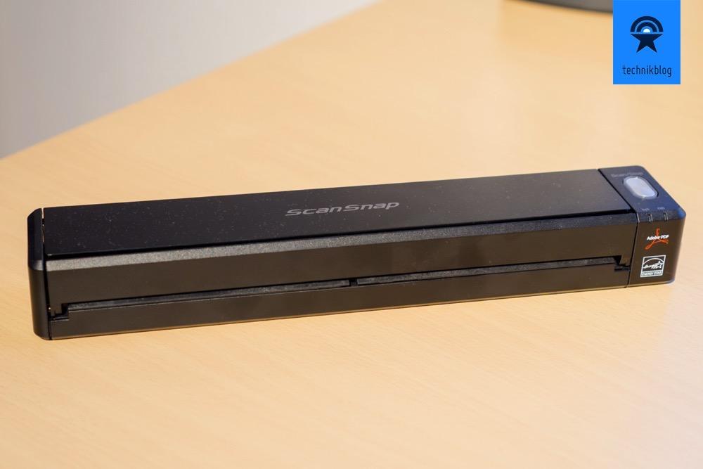 Fujitsu ScanScnap iX100 im Test