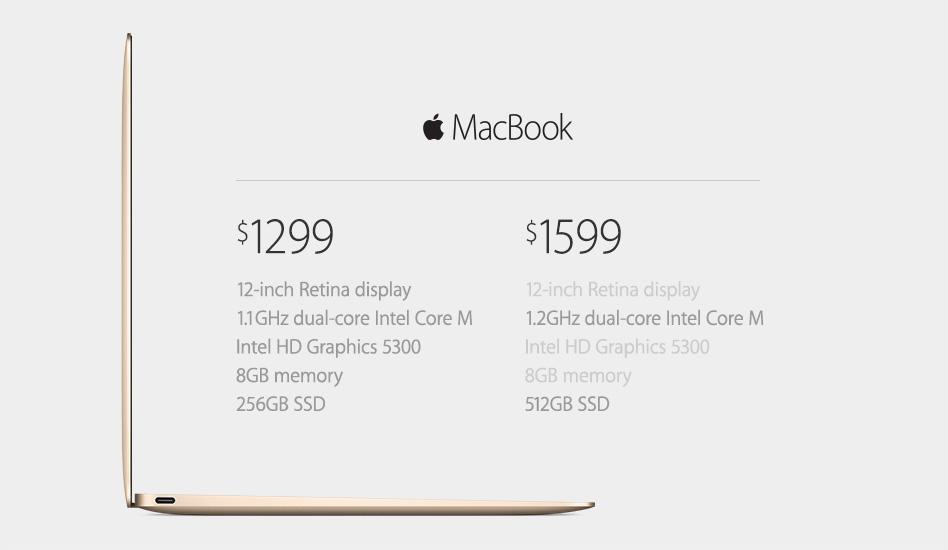 Apple MacBook Konfigurationen