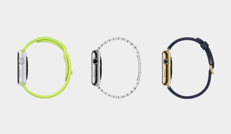 Apple Watch - Drei Kollektionen