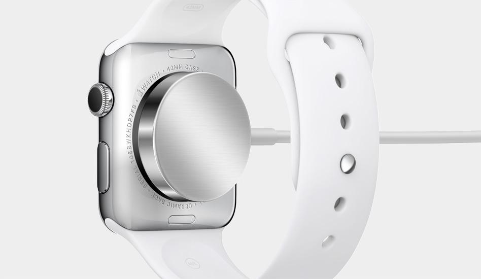 Apple Watch Lade-Mechanismus