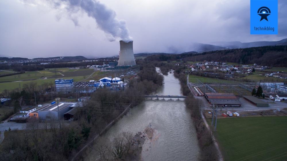 Luftaufnahme mit dem DJI Inspire 1.
