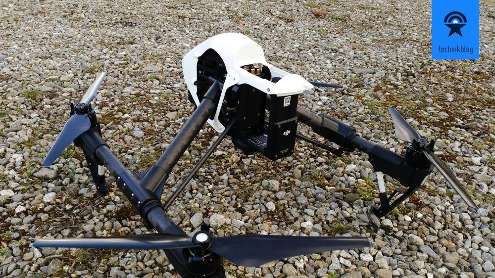 Der DJI Inspire 1 ist quasi ready to fly nach dem Kauf.