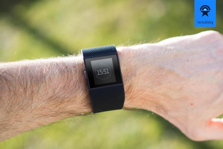Fitbit Surge Testbericht