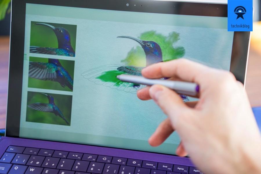 Malen mit dem S-Pen