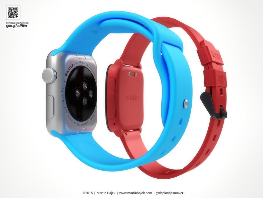 Vergleichsgrafiken Apple Watch vs Pebble Time von Martin Hajek - 4