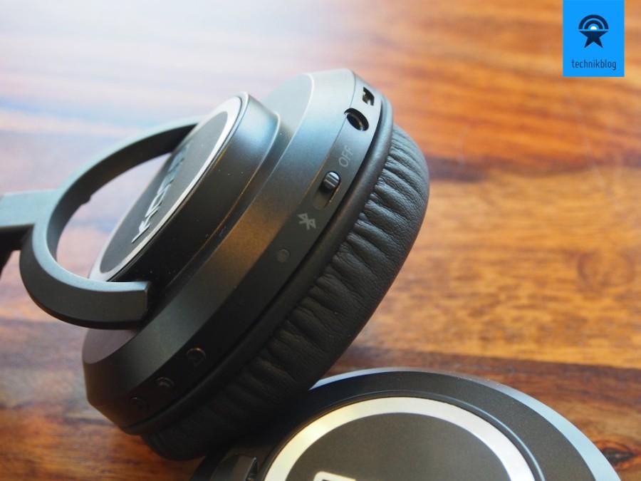 BT540i: Bluetooth Kopfhörer für Unterwegs