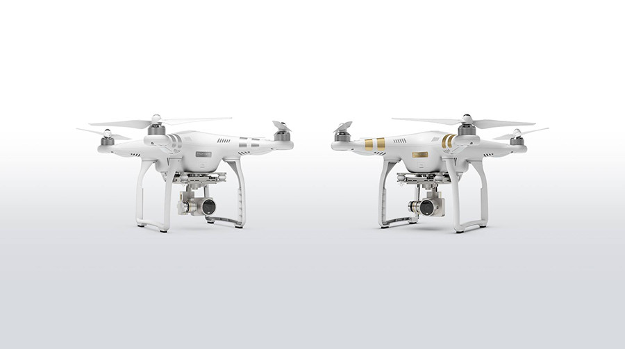 DJI Phantom 3 Advanced und Professional