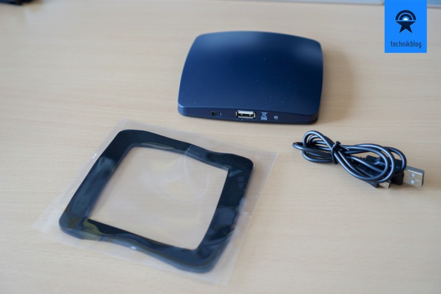 Lieferumfang Solar Window Charger