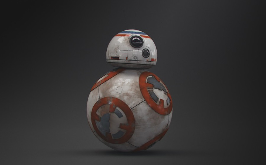 Star Wars BB-8 from cineymuchomas