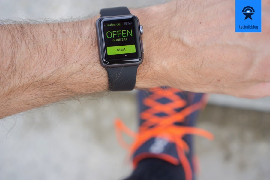 Apple Watch beim Sport
