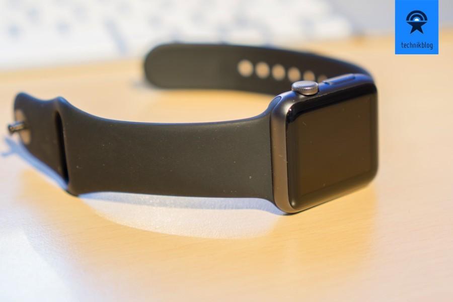 Tolle Verarbeitung und angenehmer Tragekomfort der Apple Watch
