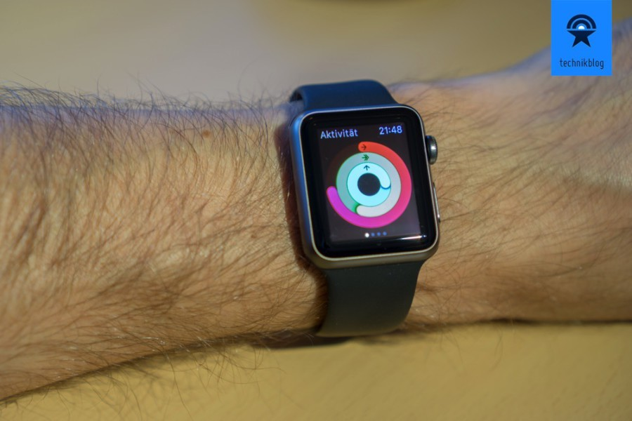 Apple Watch Sport 38mm spacegrey - es hätte die 42mm Version werden dürfen