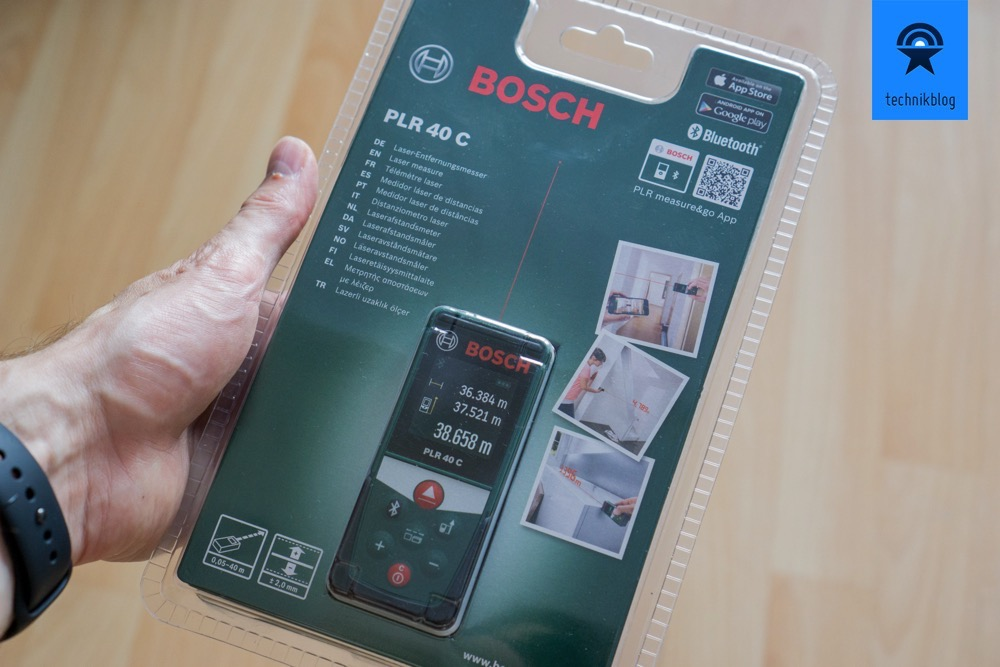 bosch plr 50 c im test laser messger t mit app anbindung. Black Bedroom Furniture Sets. Home Design Ideas