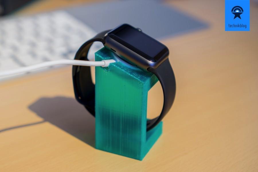 M3D Printer Beispiele: Apple Watch Ladestation