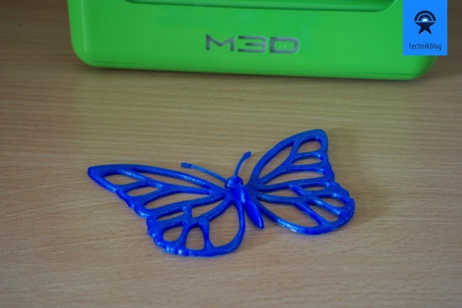 M3D Printer Beispiele: Schmetterling