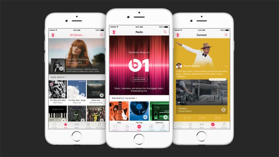 So sieht die Apple Music App aus