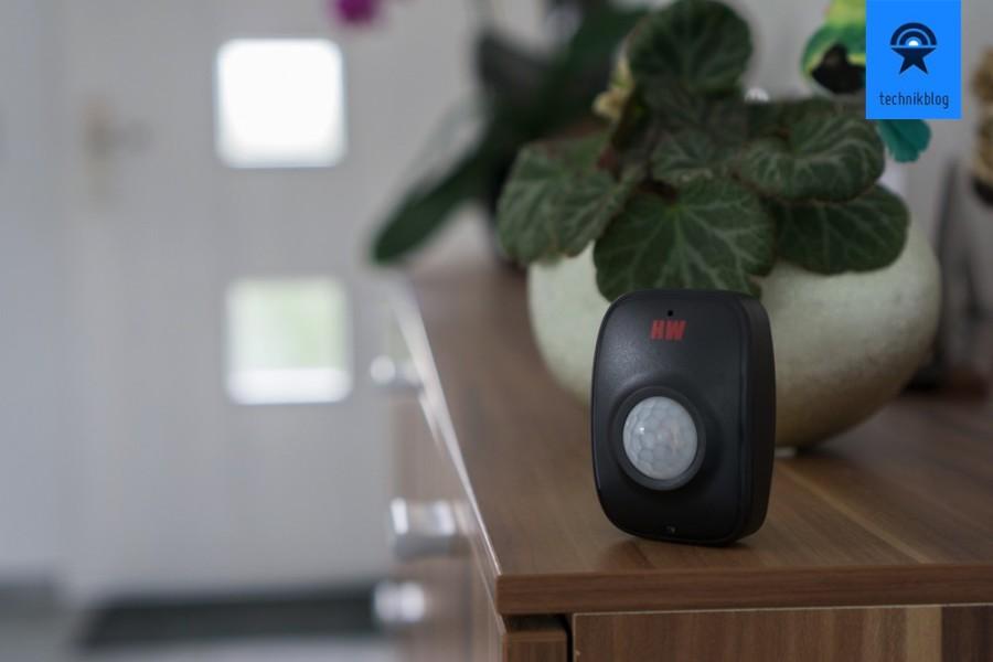 maxSmart Motion Sense ist kabellos und erfasst Bewegungen im Raum
