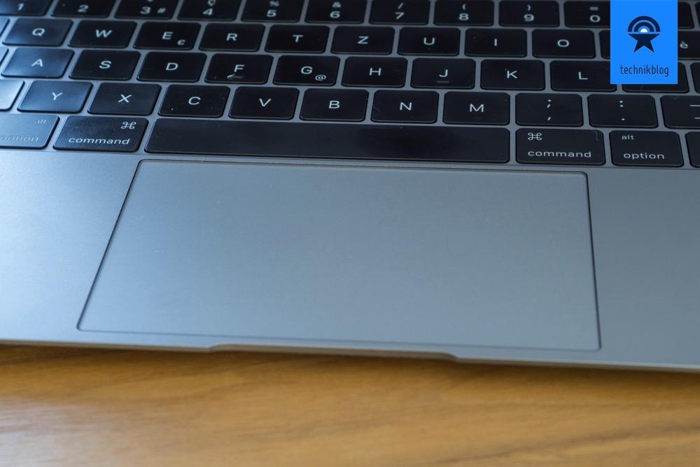 Apple MacBook - Pluspunkte für Tastatur und Trackpad