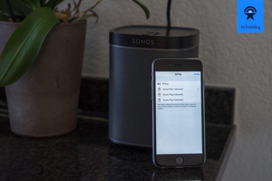 Apple Music über Sonos mit SonoAir