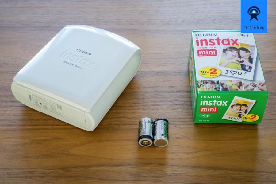 Fujifilm Instax Share Drucker und Papier