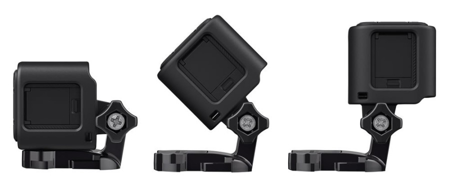GoPro Hero4 Session Positions