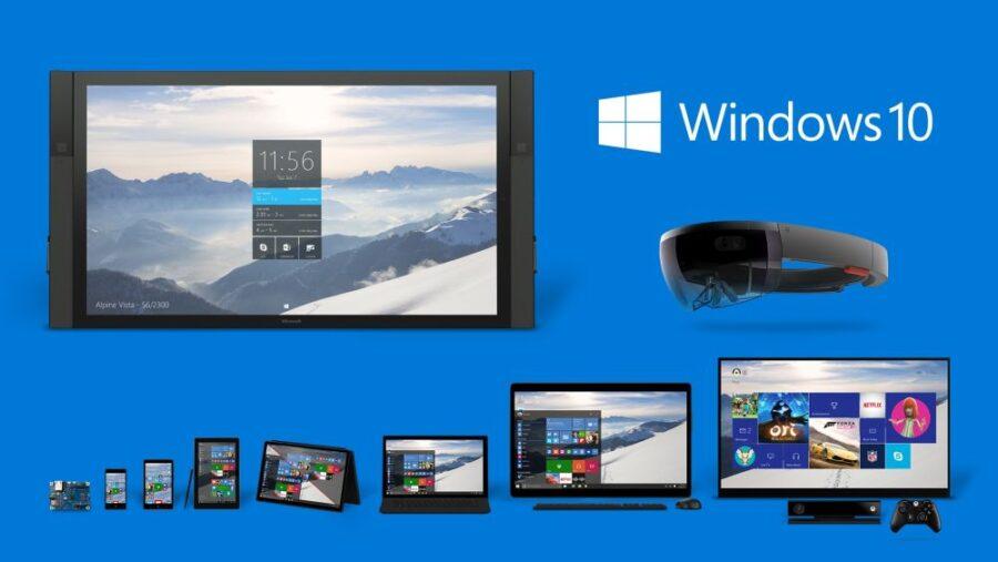 Windows 10 Produktfamilie