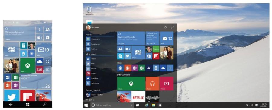 Windows 10 – Screenshot Continuum