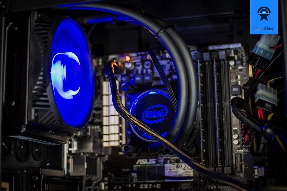 Intel BXTS13X wartungsfreie CPU Wasserkühling