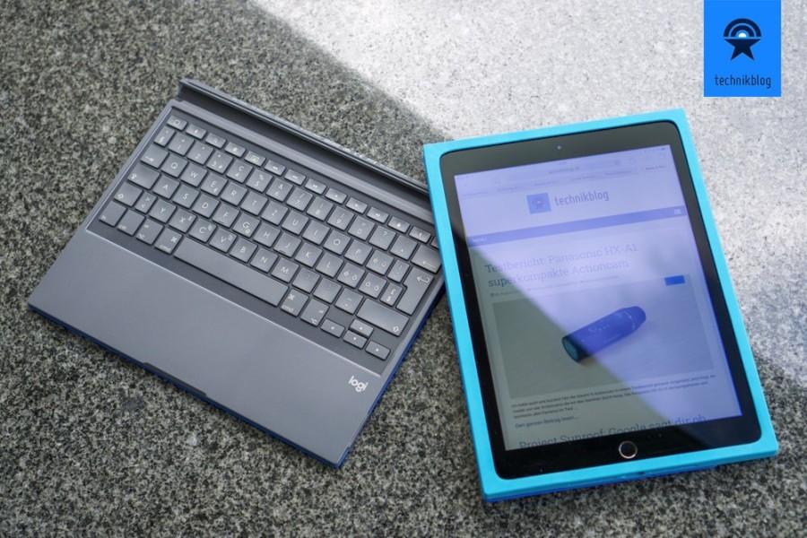 Logi BLOK: Zweiteilig - Schutzcase und Tastatur