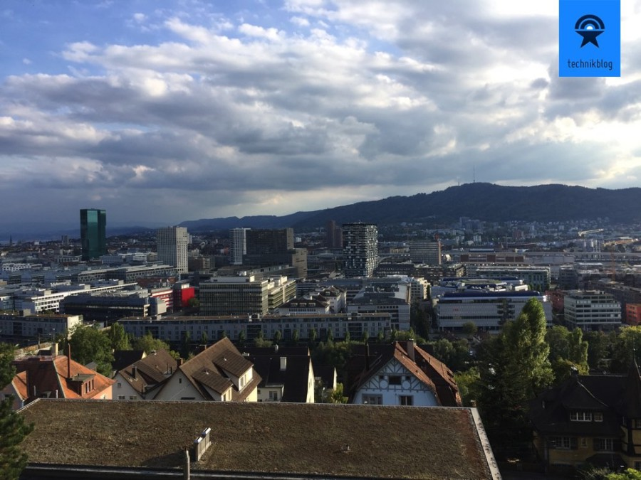 Apple iPhone 6S Plus Testaufnahme in Zürich