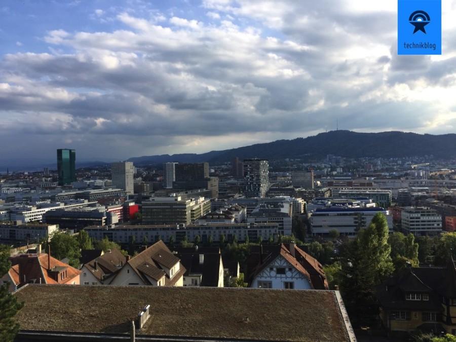 Apple iPhone 6S Plus Testaufnahme in Zürich