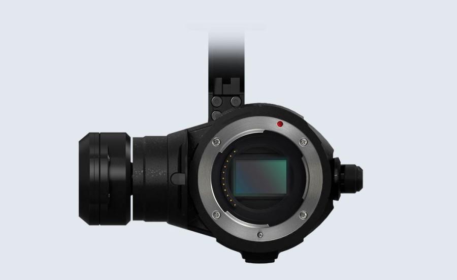 DJI Zenmuse X5 Serie mit Micro Four Third Sensor