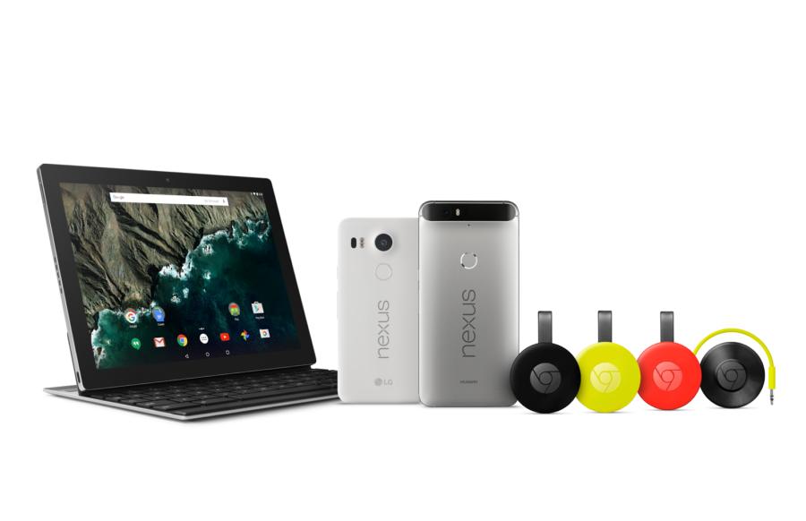 Google Hardware Familie