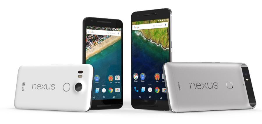 Google Nexus 5X und Nexus 6P