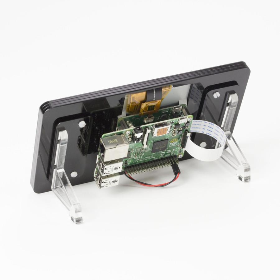 Raspberry Pi Touchscreen Display Ständer