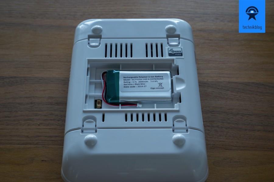 Ein Akku in der Smartlife Box hilft bei Stromunterbrüchen.