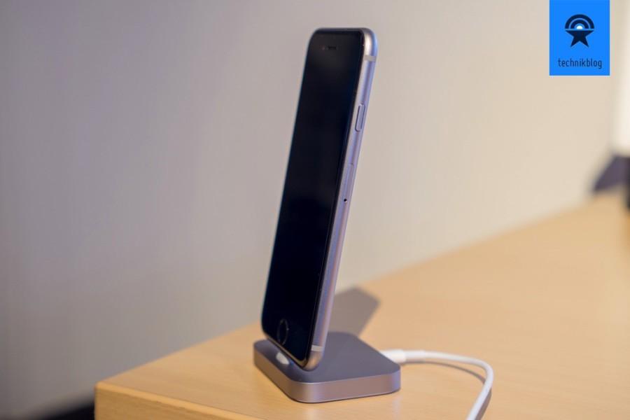 Apple iPhone 6S: Das Gehäuse ist von aussen eigentlich nicht vom Vorgängermodell zu unterscheiden.