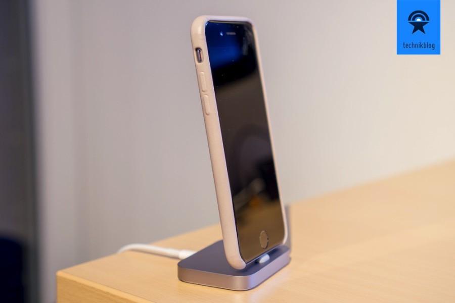 Passen zum iPhone 6S gibt es von Apple schöne Lederhüllen in verschiedenen Farben.