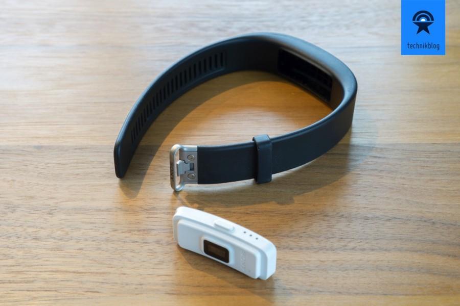 Sony Smartband 2 besteht aus einer Tracking-Einheit und einem Armband