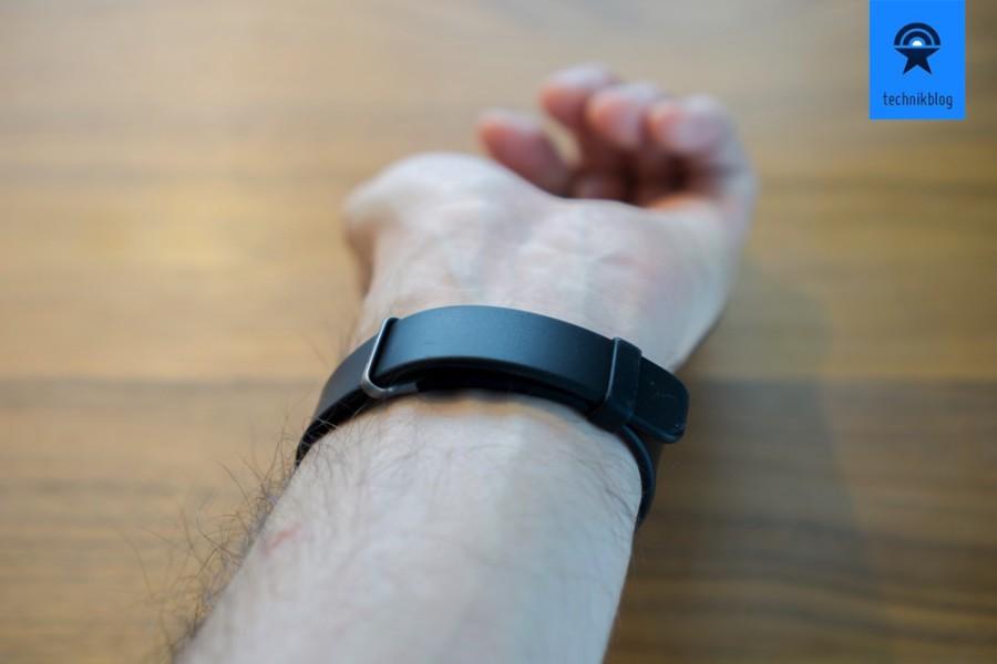 Sony Smartband 2 - extrem angenehm zu tragen dank weichem Band