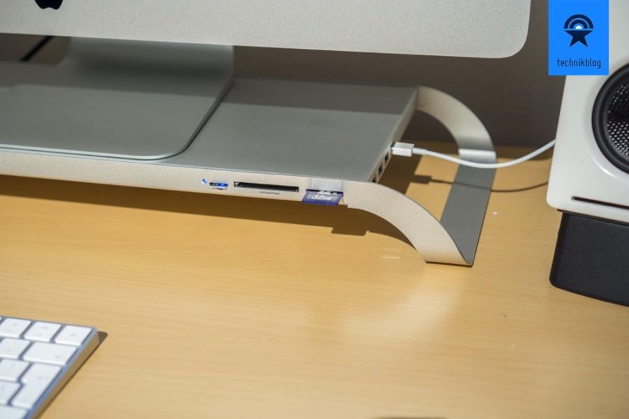 Kartenleser und USB Hub in der Prostation 3.0