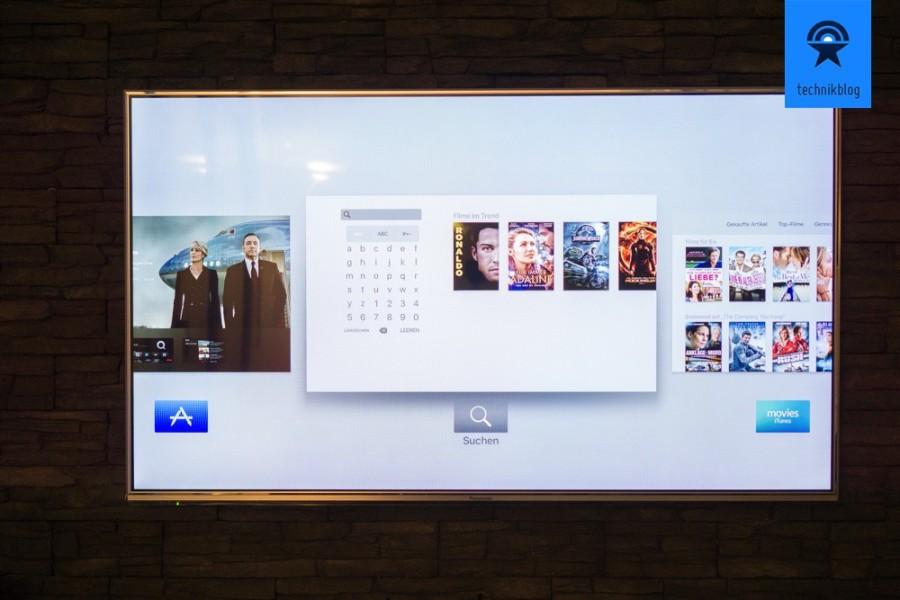 Wechseln zwischen Apps auf dem Apple TV