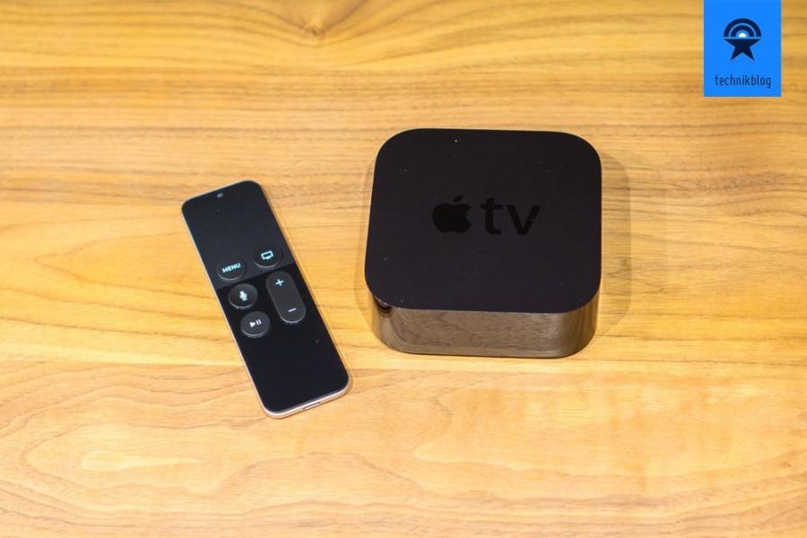 Die neue Apple TV und die Remote