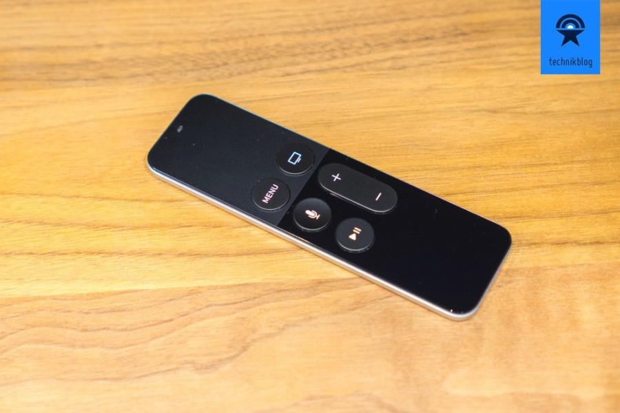 Die neue Apple TV Remote mit der Touch Oberfläche aus Glas