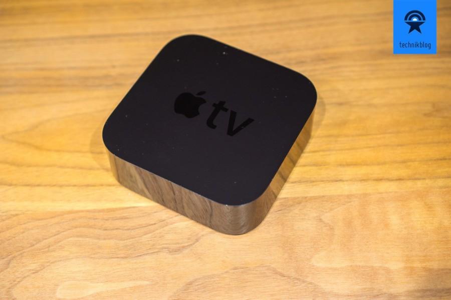 Die neue Apple TV ist etwas höher als ihr Vorgänger